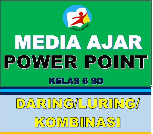 MEDIA PEMBELAJARAN POWERPOINT SD KELAS 6 K13 DARING LURING