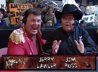 WWE / WWF Backlash 1999 - Jerry 'The King' Lawler and Jim Ross hosted the event