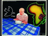 Exposition Picasso Mania - Grand Palais - Picasso - Cheri Samba