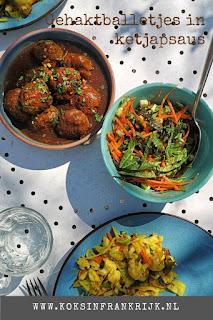 Recept voor pittige gehaktballetjes in ketjapsaus. Lekker als onderdeel van een rijsttafel of als borrelhapje.