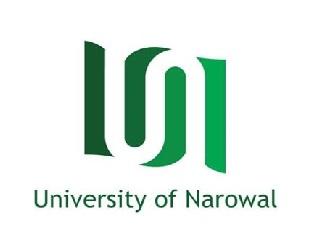 Latest Jobs in University of Narowal UON May 2021=Apply Online