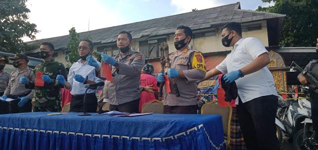Polisi Amankan 62 BB Curanmor di Lombok Timur