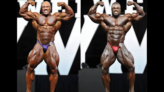 """Phil Heath """"Brandon Curry He Has Nothing To Do On My Stage"""""""