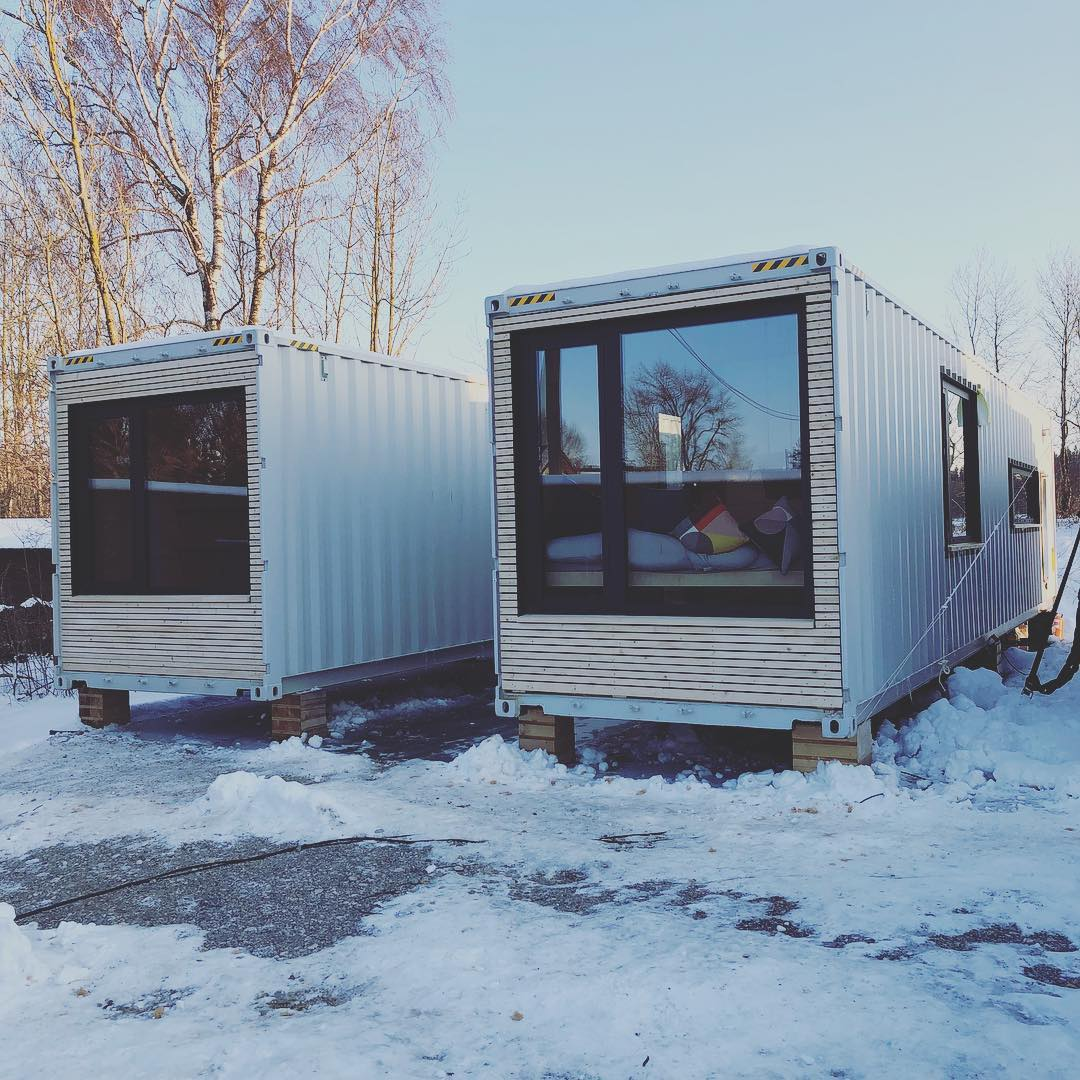 40 Feet Container Homes: Shipping Container Homes & Buildings: #FL1