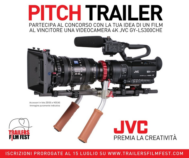 TRAILERS FILMFEST 2017 videocamera JVC GY-LS300CHE