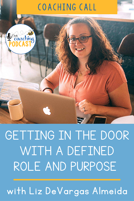 It's not always easy to get your foot in the door as an instructional coach. On this coaching call, I chat with Liz DeVargas Almeida about coaching teachers of English Language Learners (ELL). We discuss some of the challenges she's facing and how to get support from the administration. Liz and I talk about defining your instructional coaching role and purpose. Listen to learn how to use an instructional coaching menu to help teachers understand what supports you offer.