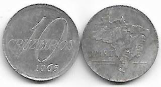 10 Cruzeiros, 1965