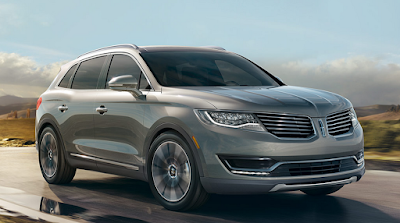 Lincoln MKX SUV right side angle
