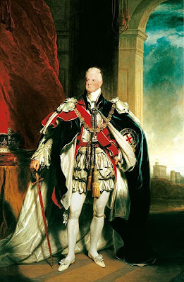 Portrait of William IV by Sir Martin Archer Shee, 1833