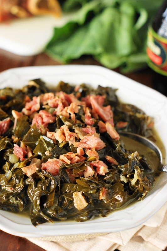 Southern Collard Greens Recipe The Kitchen Is My Playground