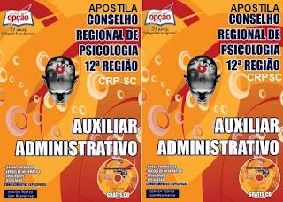 Apostila Concurso CRP12 - Conselho Regional de Psicologia - CRPSC