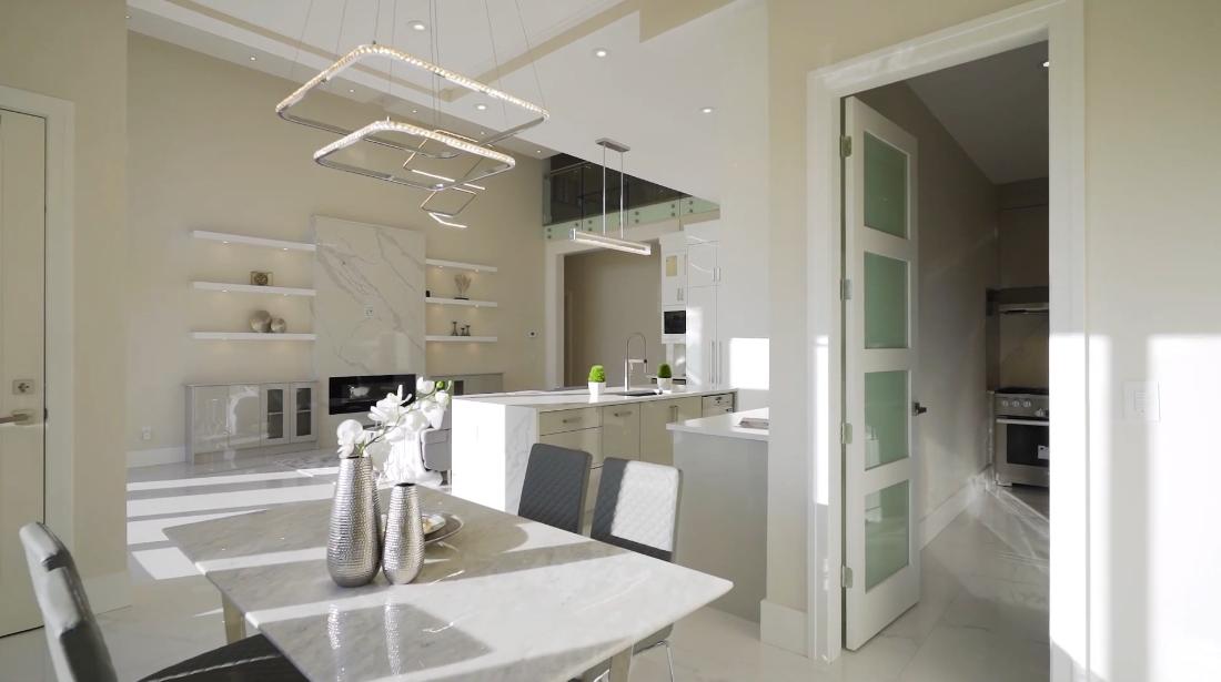 45 Interior Design Photos vs. 7680 Steveston Hwy, Richmond, BC Luxury Home Tour