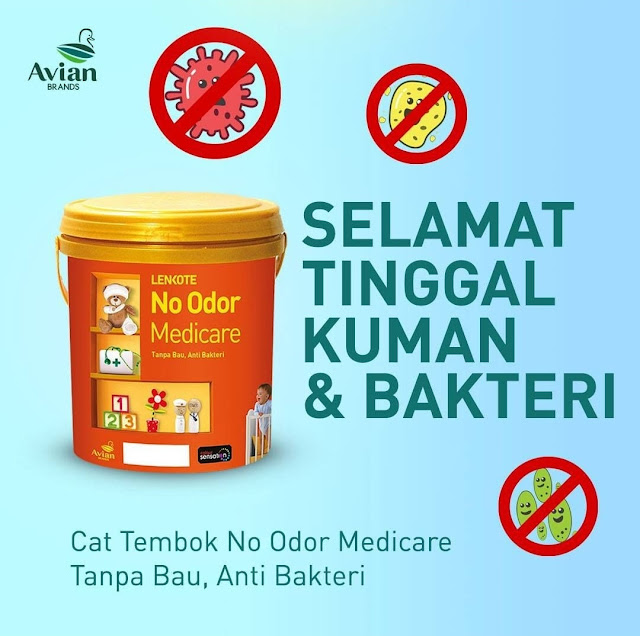 cat antibakteri