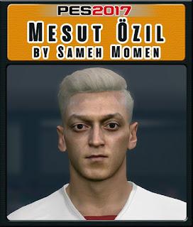 PES 2017 Faces Mesut Özil by Sameh Momen