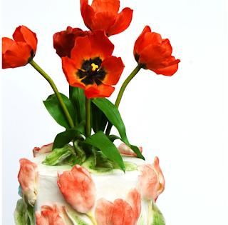Inspiré par « Tulipes » d'Amanda Lamunyon - Catalina Anghel de Azucar'arte