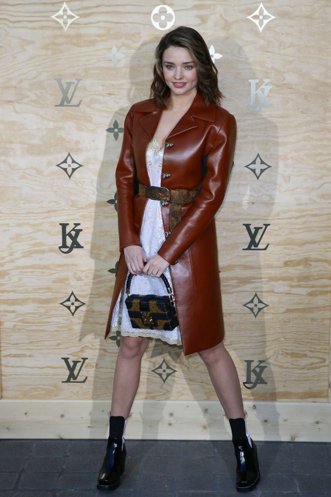 Miranda Kerr – Louis Vuitton & Jeff Koons Masters Collection Collaboration in Paris
