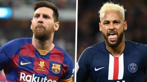 Neymar Beats LionelMessi Hands Down As Top Dribbler In Europe