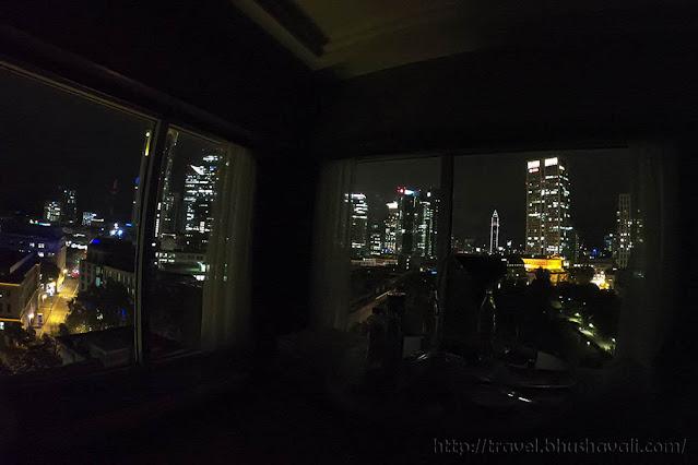 HILTON FRANKFURT CITY CENTRE King Executive Room with Panoramic Views
