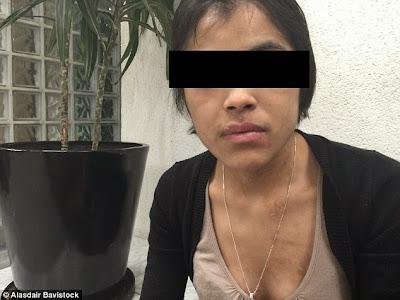 Horror: mučena djevojka pokušala piti paru iz pegle,tjerana da spava uspravno u lancima