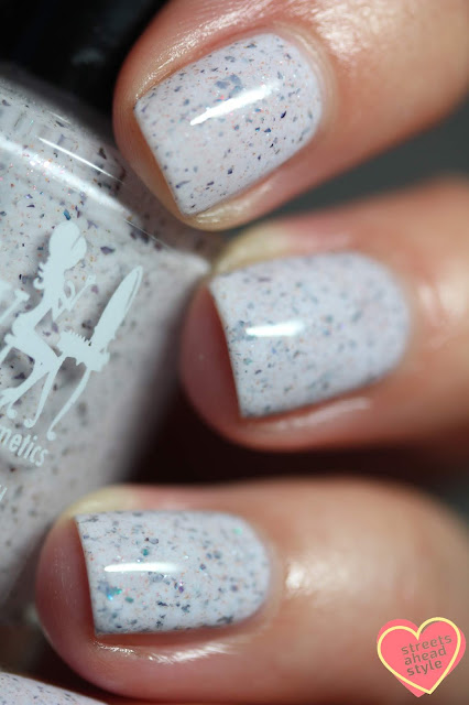 Girly Bits Cosmetics Not Plain White swatch by Streets Ahead Style