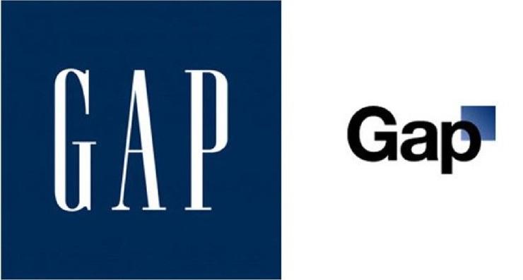 Новый логотип GAP - маркетинговые ошибки
