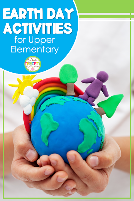 Searching for some Earth Day activities for upper elementary kids? Here are some engaging ideas for 4th and 5th graders.