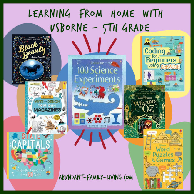 Learning from Home with Usborne 5th Grade