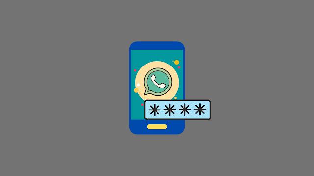 cara memberi password pada whatsapp tanpa aplikasi