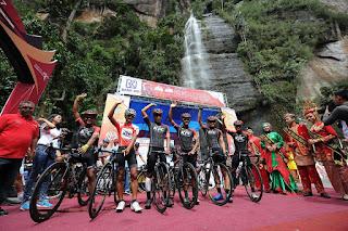Etape 7 Tour de Singkarak, Jerman juara 1 Muhammad Imam Arifin