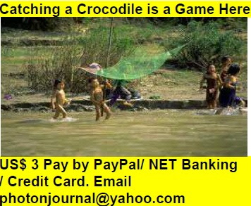 Catching a Crocodile is a Game Here Book Store Buy Books Online Cash on Delivery Amazon Books eBay Book  Book Store Book Fair Book Exhibition Sell your Book Book Copyright Book Royalty Book ISBN Book Barcode How to Self Book