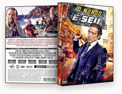 CAPA DVD – O Mundo é Seu – ISO