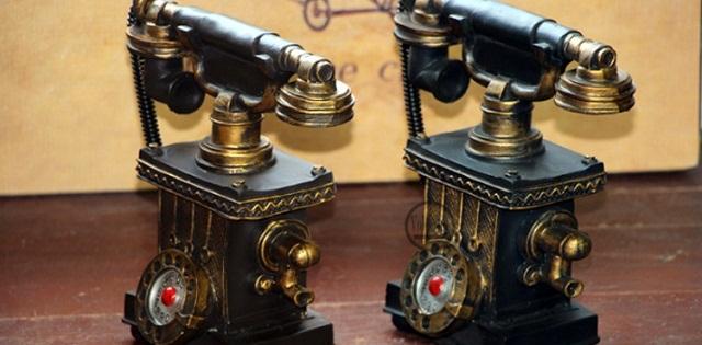 Điện Thoại Bàn Vintage Trang Trí V15526