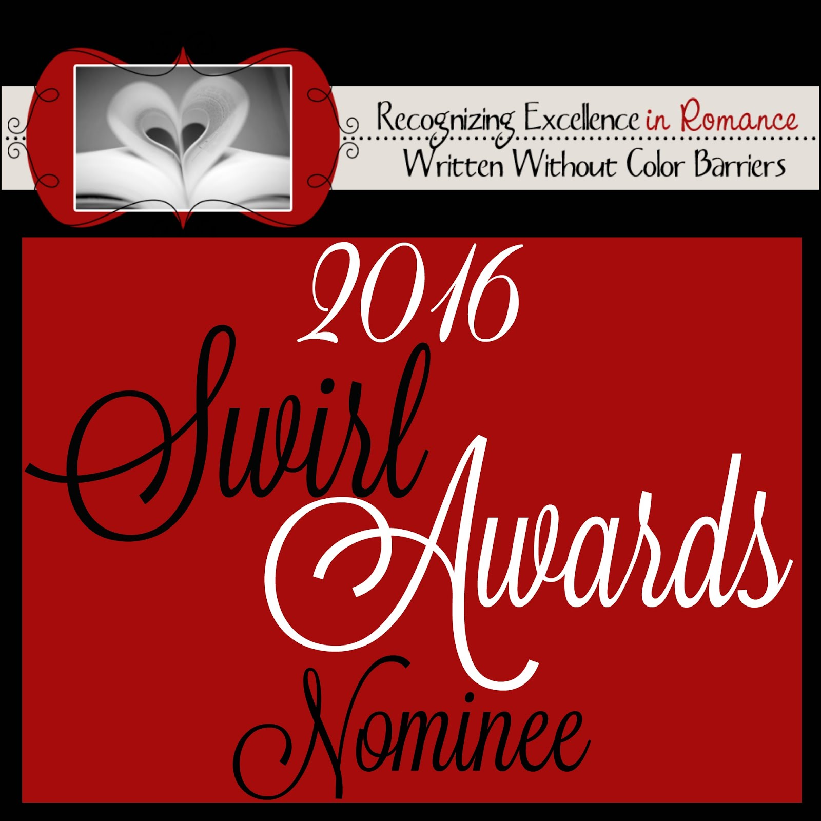 We're nominees for the Swirl Awards