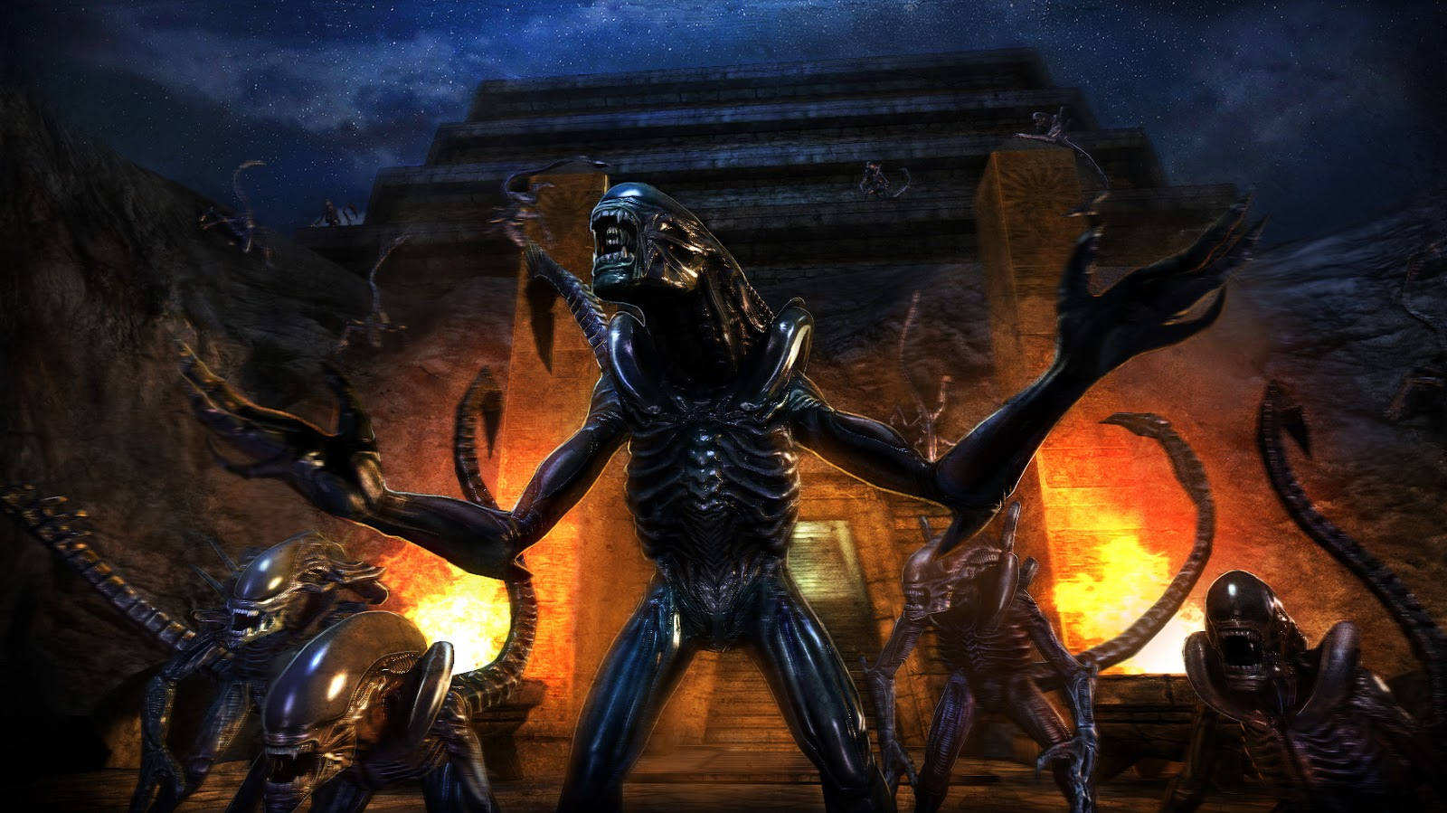 Aliens Vs Predator Stalks Ios And Android Digitally