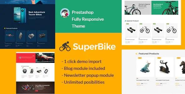 Best Bicycle Auto Car Electronics Digital Art Prestashop Theme