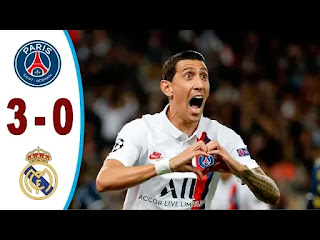 PSG Vs Real Madrid 3-0 All Goals And Match Highlights [MP4 & HD VIDEO]