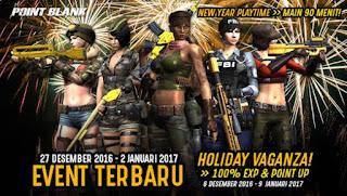 Event PB Garena 27 Desember 2016 Tahun Baru