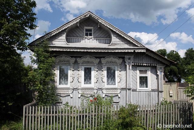 самые красивые деревянные дома россии фото