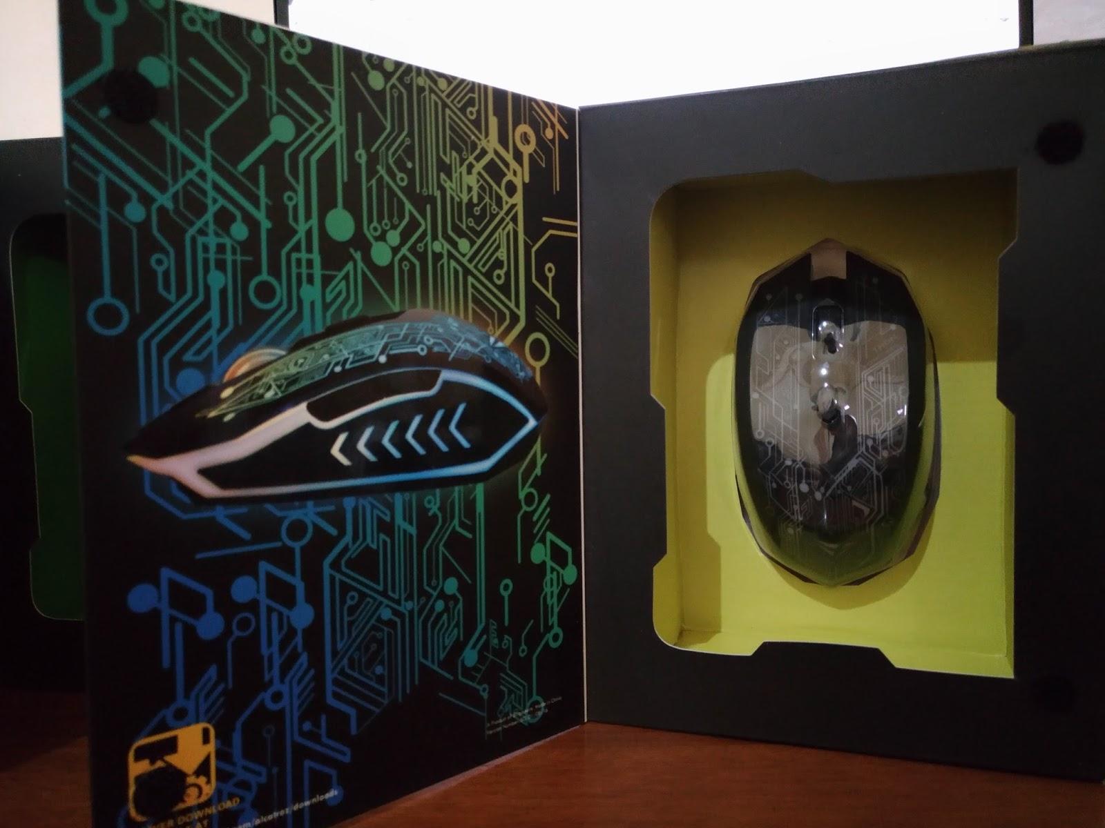 Gaming Mouse Baru dari Alcatroz X-Craft Air Series (Wireless)