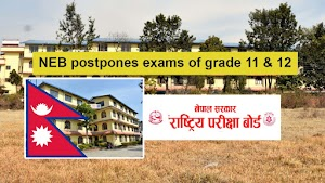 Grade 11 and 12 final examinations postponed until further notice