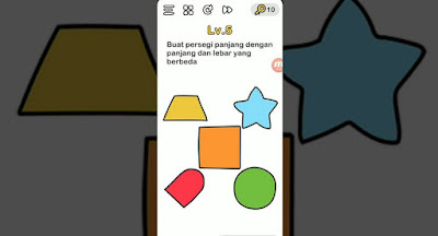 Brain Out Buat Persegi Panjang