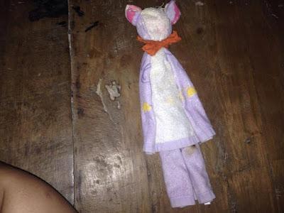 พับตุ๊กตาตกแต่งห้อง