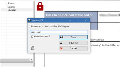 تحميل برنامج PDF Page Lock