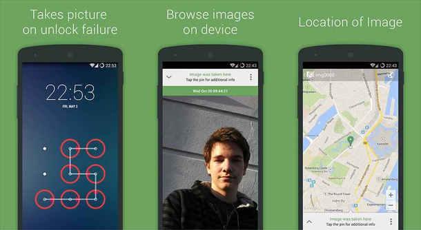 تعرف على تطبيق CrookCatcher لتصوير من يحاول فتح هاتفك خلسة