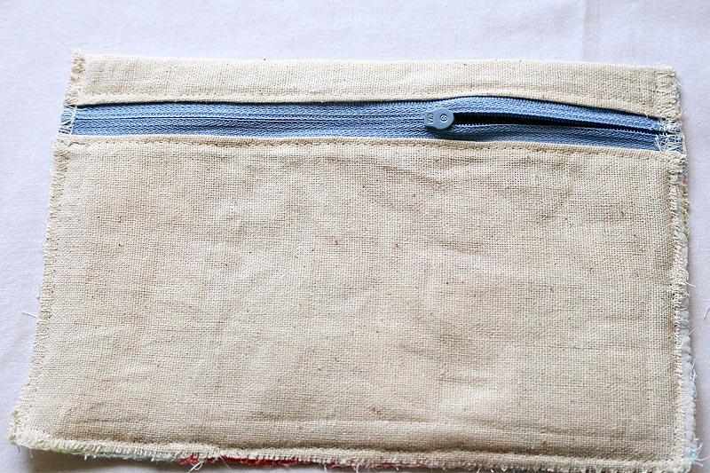 Toiletries Pouch Bag Tutorial