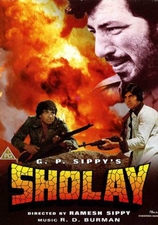 Sholay 1975 Full Hindi Movie Download