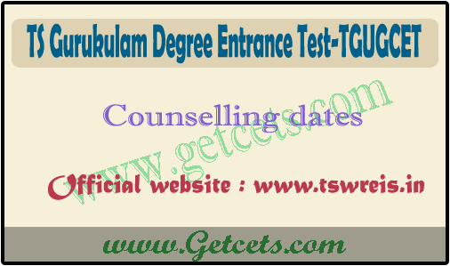 TGUGCET counselling dates 2021, ts gurukulam degree counseling