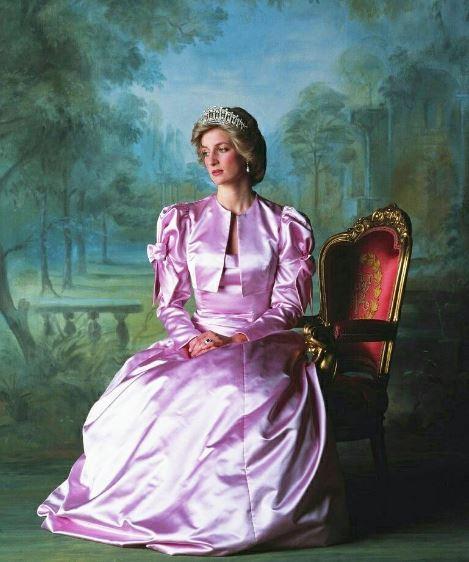 Foto oficial de Princesa Diana de Gales