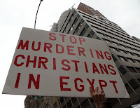 Stop murdering christians in Egypt
