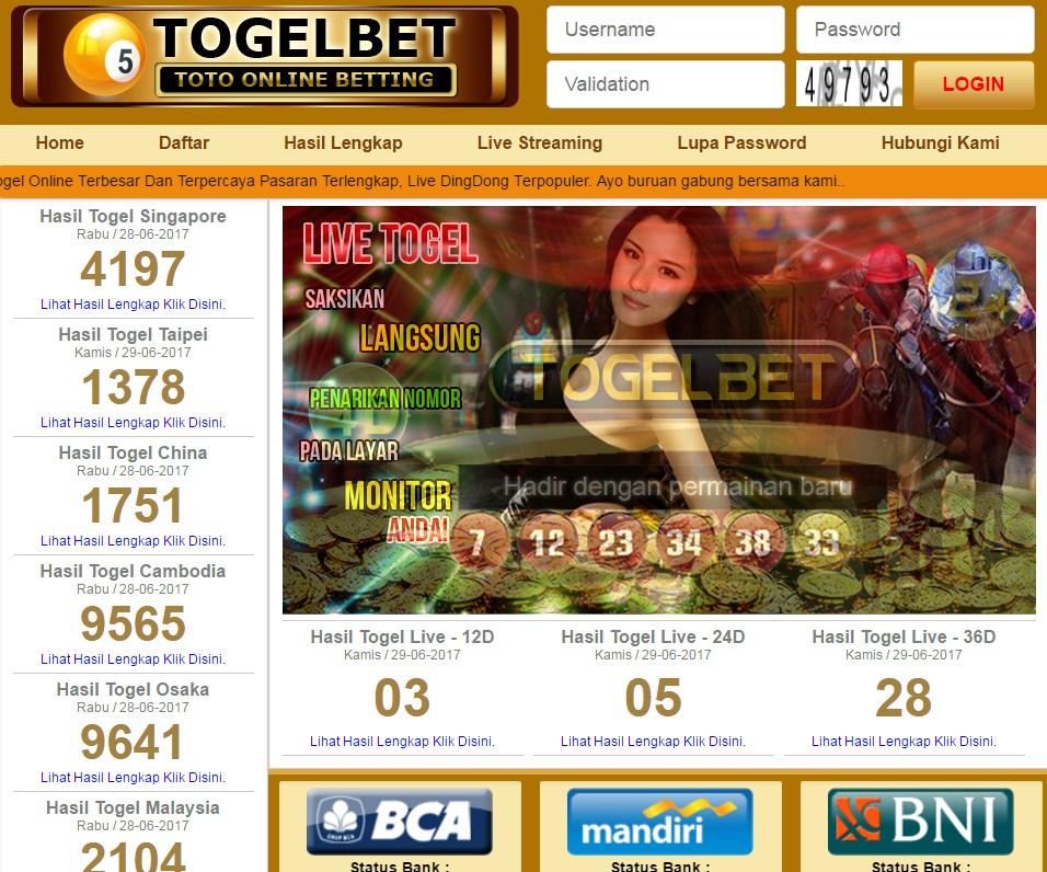 Togel Lawas Togelbet.net - Judi Togel Online Aman dan Sudah Terbukti